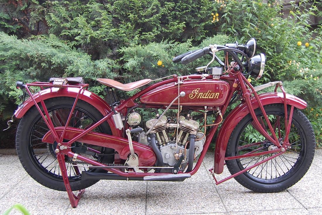 INDIAN SCOUT 600, r.v.1927