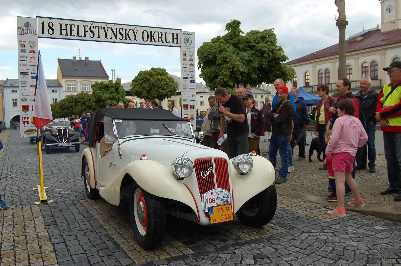 Foto Helfštýnský okruh.